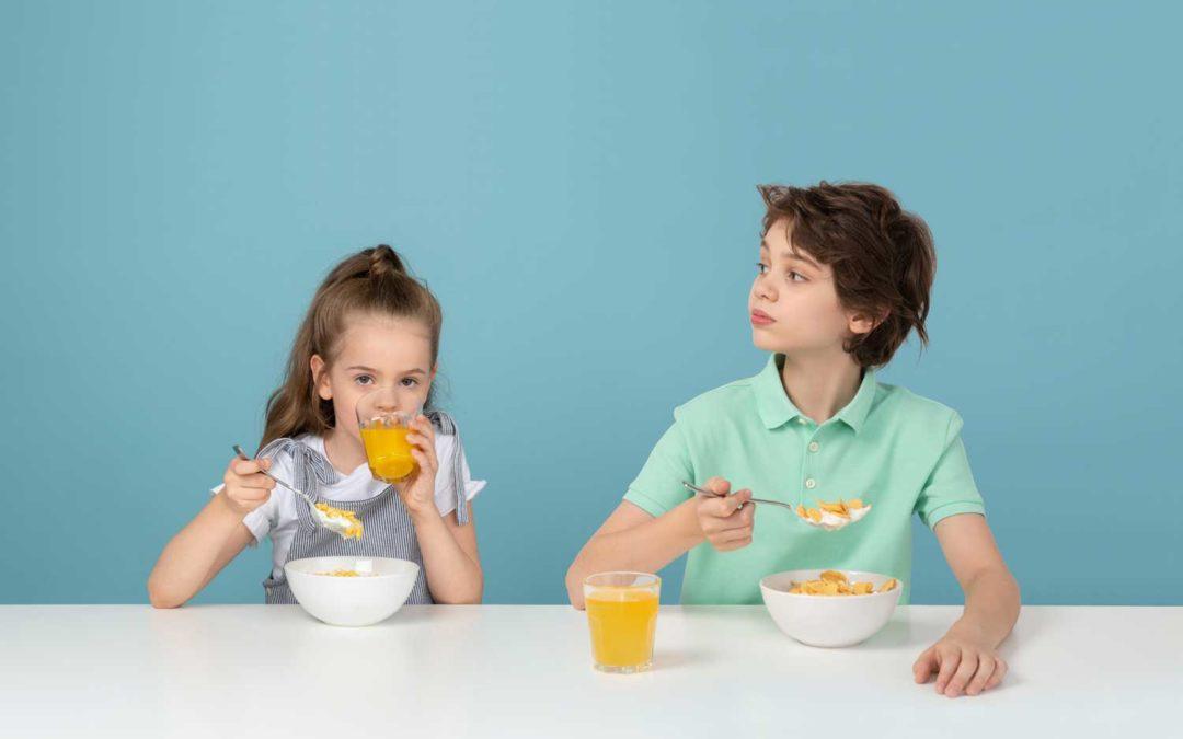 Rapport sur les petits-déjeuner chez l'enfant et l'adolescent